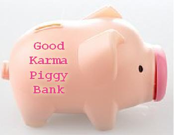 good karma piggy bank