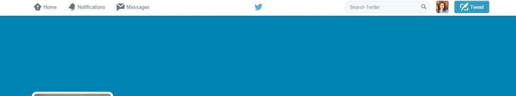 twitter blue header
