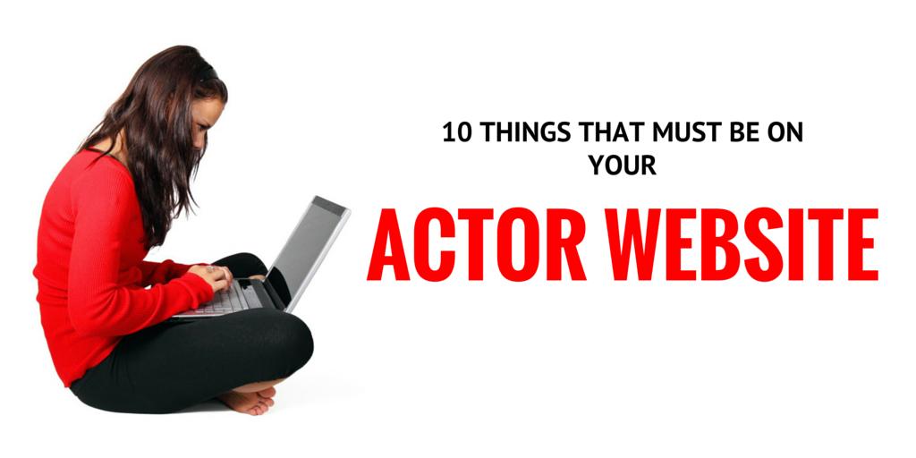 actor-website