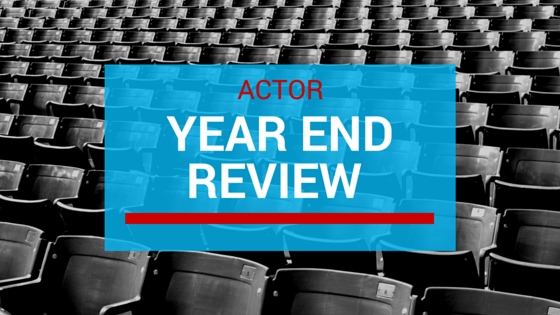 Year end actor review