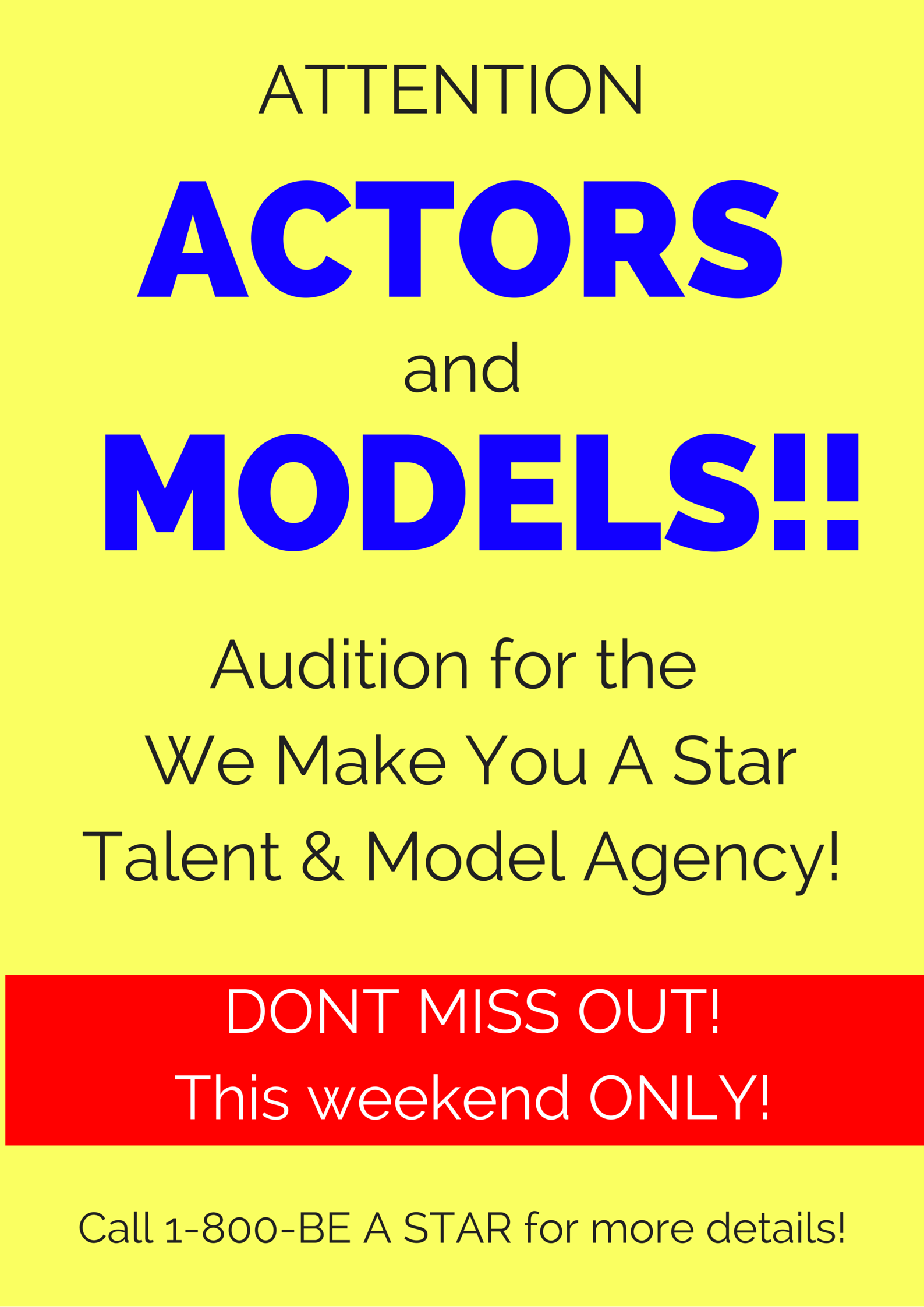 How to Spot A Modeling or Acting Scam! - Marketing4Actors