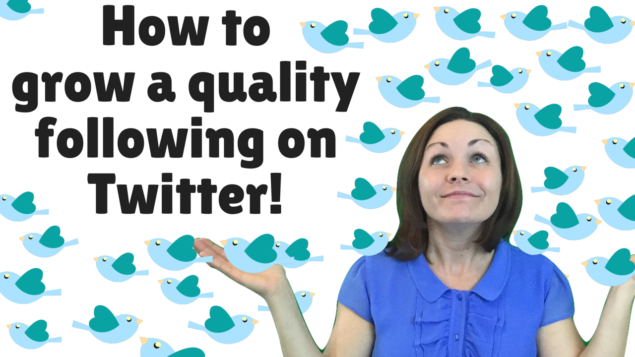 how to grow a quality following on twitter heidi dean