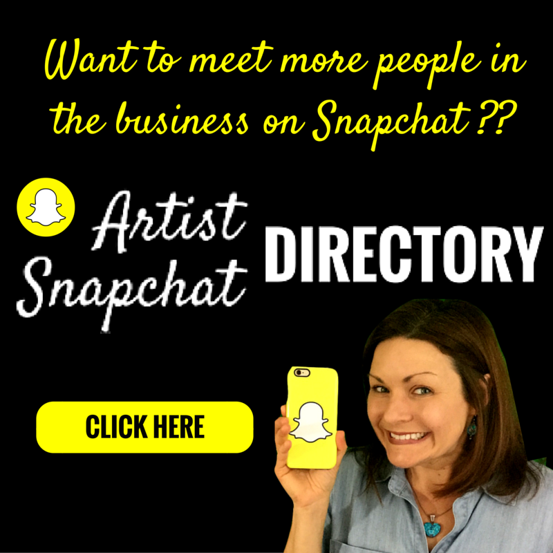 Artist Snapchat Directory
