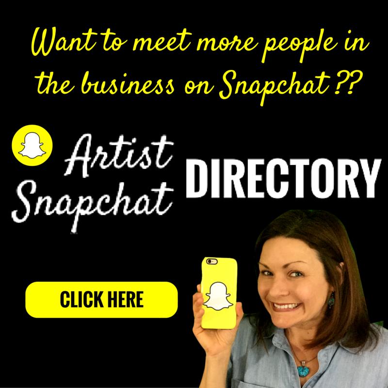Artist Snapchat Directory