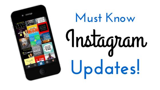 Instagram Updates in 2016!