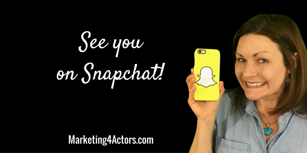 See you on Snapchat!