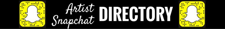 Artist Snapchat Directory Heidi Dean