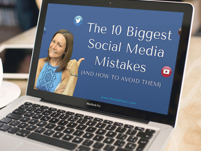 Social Media Mistakes Businesses Make By Heidi Dean