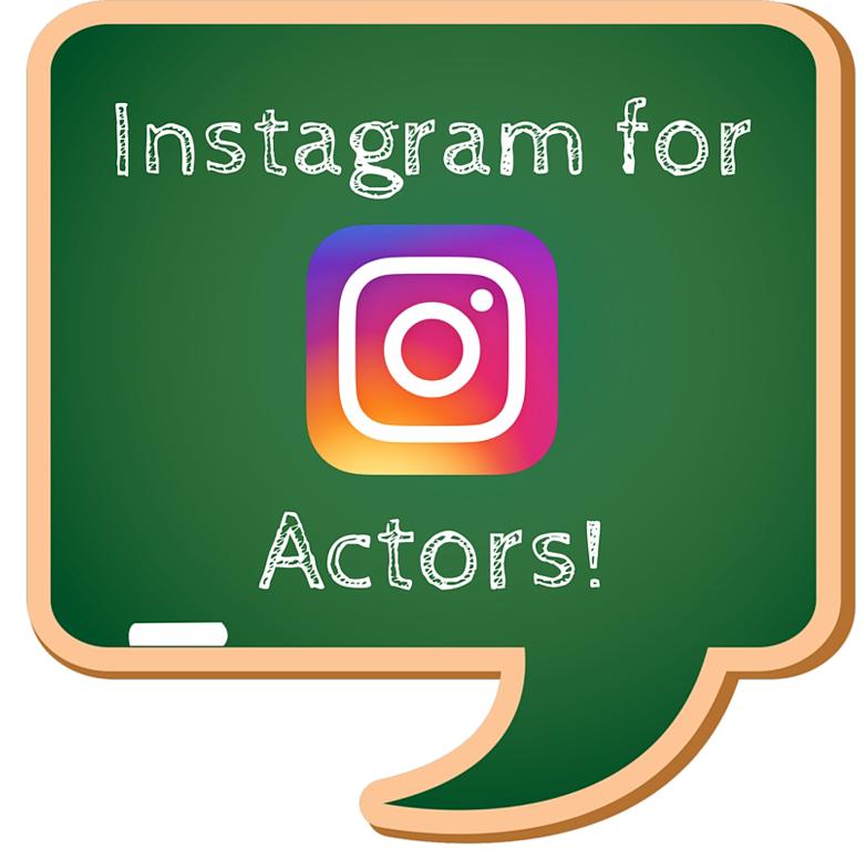 Instagram for actors