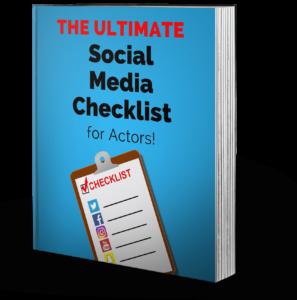 The ulimate social media checklist for actors crop