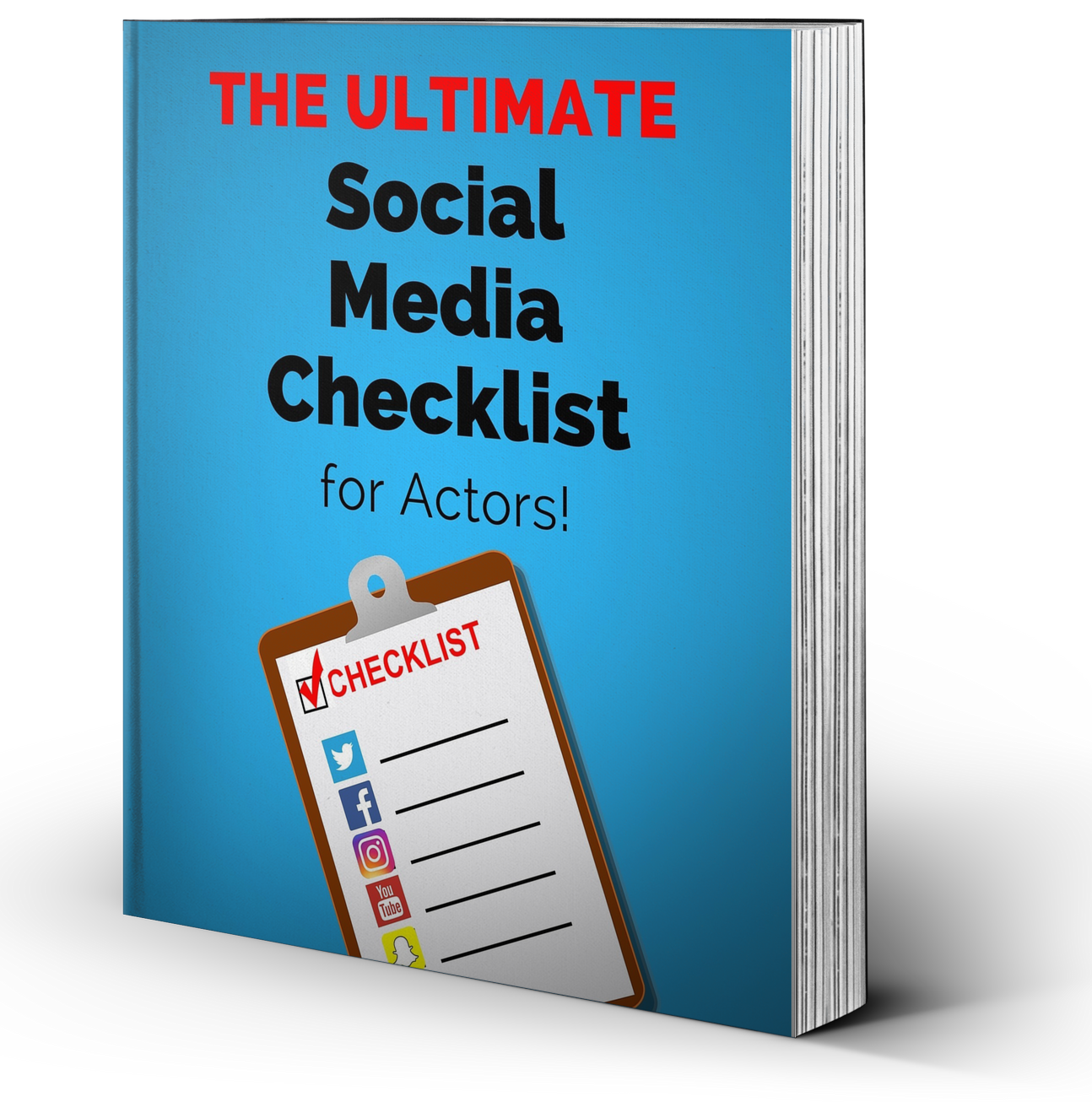 ultimate social media checklist for actors