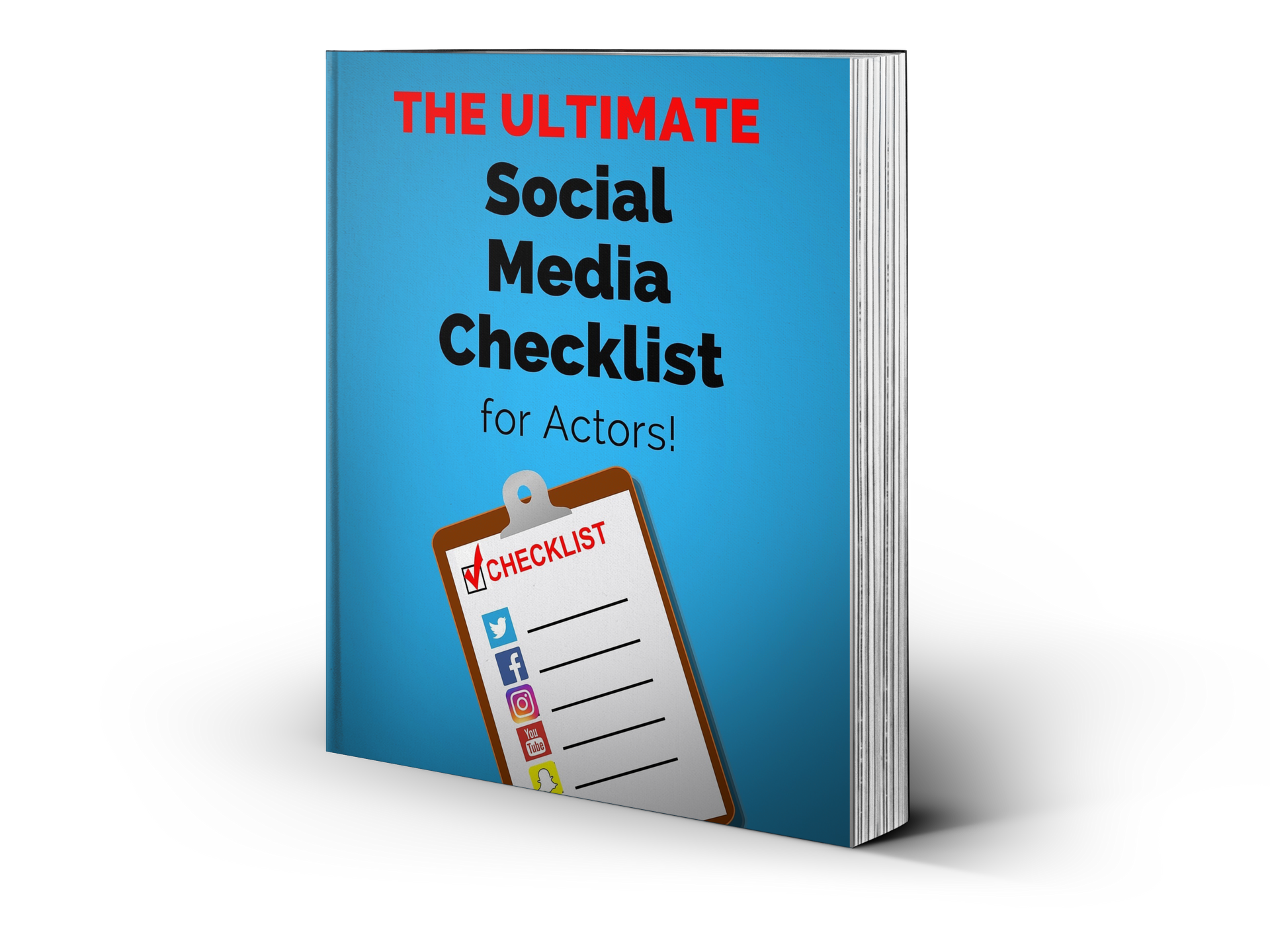 Ultimate Checklist Social Media for Actors