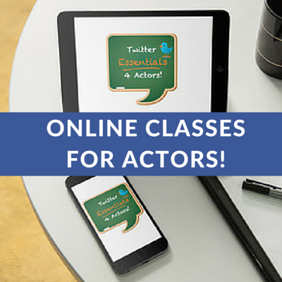 ONLINE MARKETING CLASSES FOR ACTORS