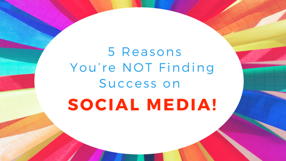 5 reasons you're not finding success on social media for actors