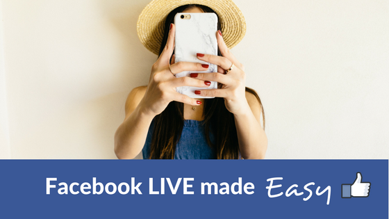 Facebook LIVE made easy for actors