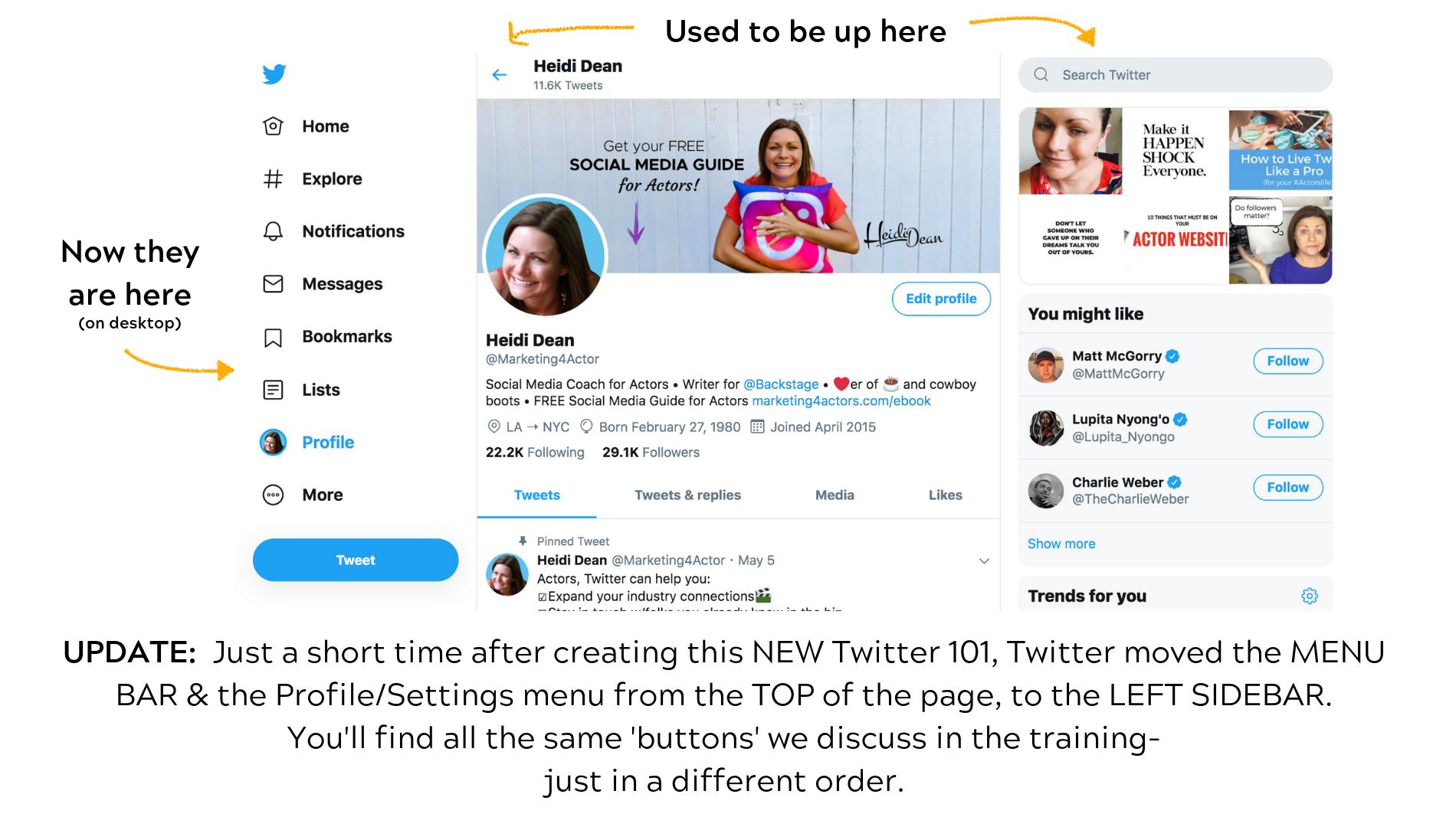 Twitter for Beginners - Marketing4Actors